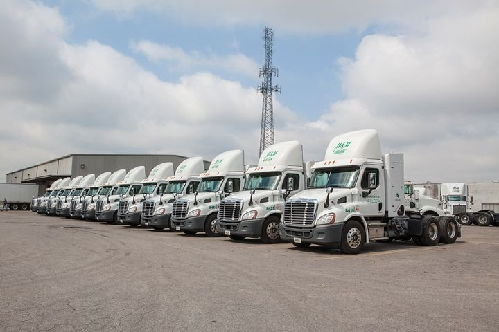 M&M Cartage exceeded this year's goal of 100 natural-gas-powered trucks. - Photo: M&M Cartage