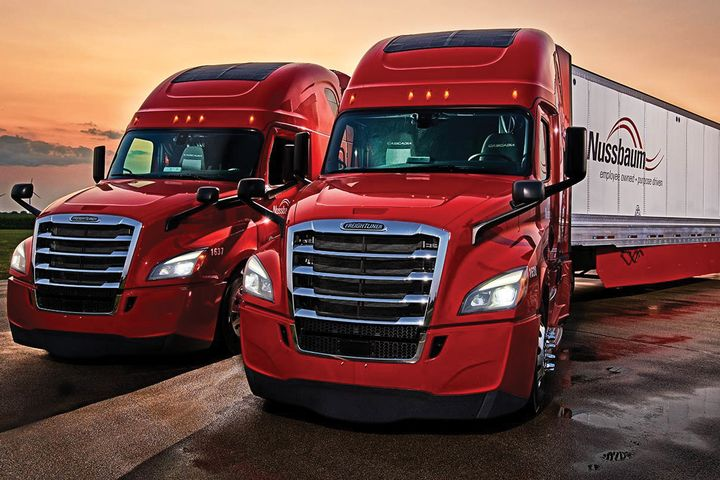 Nussbaum Transportation has a fleet average ofmore than 9 mpg. - Photo: Nussbaum Transportation