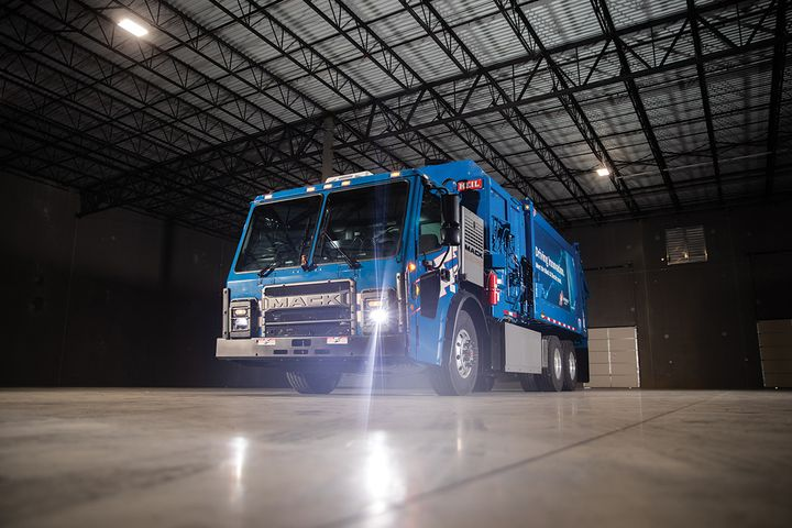 Republic Services is moving to electricrefuse trucks. - Photo: Republic Services