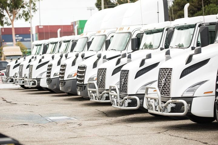 Total Transportation Services is replacing its entire diesel fleet with near-zero and zero-emissions trucks. - Photo: Total Transportation Services