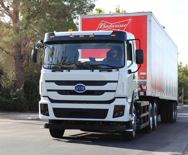What will electric trucks mean for commercial tires? - Photo: BYD