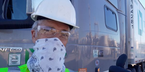 As some places around the country started requiring facial coverings, drivers made do with what...