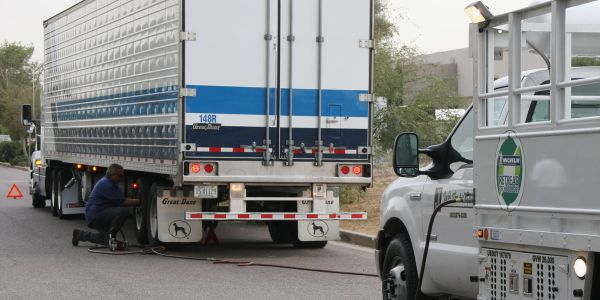 Brakes, tires, and lights cause a lot of maintenance headaches. Smart trailers could help.