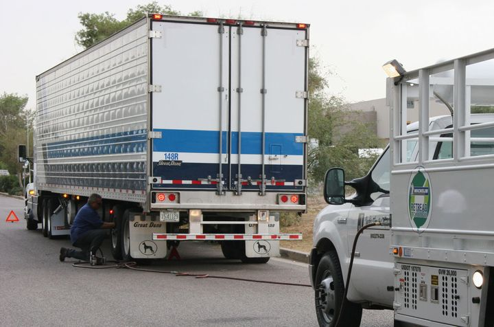 Brakes, tires, and lights cause a lot of maintenance headaches. Smart trailers could help. - Photo: Michelin