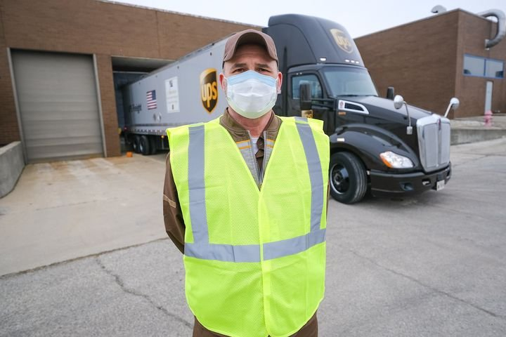America's truck drivers have been a key part of the logistics challenge posed by the COVID-19 pandemic, delivering everything from urgent medical supplies to toilet paper. - Photo: UPS