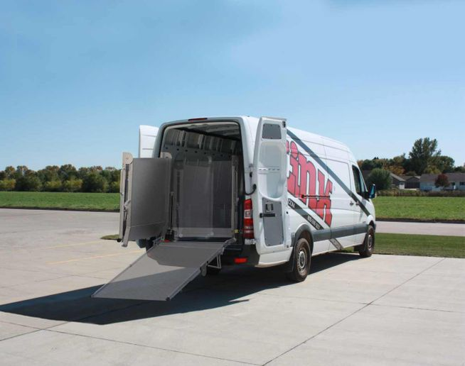 Cargo ramps are an alternative (or addition) to liftgates. - Photo: Link Mfg.