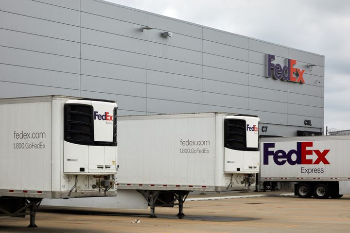 The federal government turned to the cold chain capabilities of FedEx and UPS. - Photo: FedEx