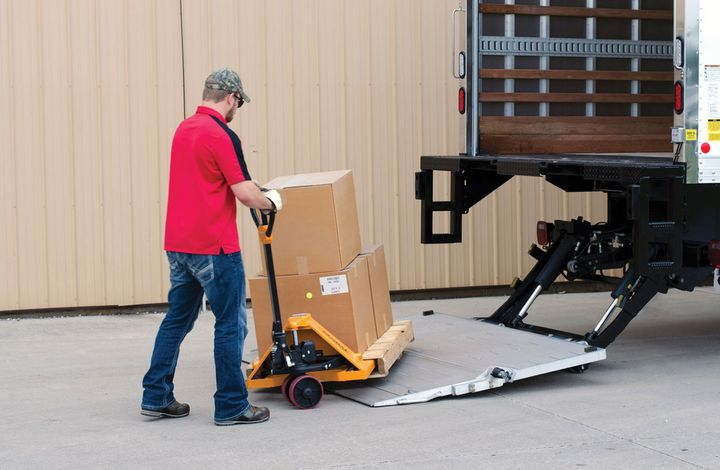 The last-mile delivery business is driving up demand for liftgates. - Photo: Anthony Liftgates