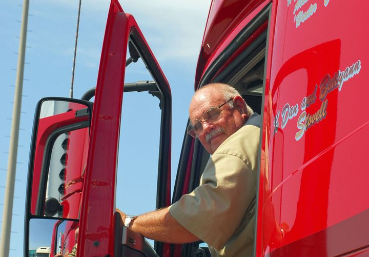 Studies have shown a correlation between the whole-body vibrations experienced when driving a truck and aggressive prostate cancer. - Photo: Jim Park