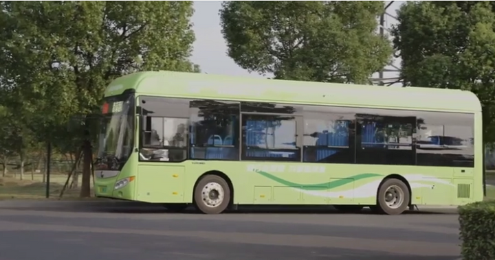 Hyzon fuel cell technology has been deployed in hundreds of trucks and buses to-date, through efforts of the parent company Horizon working with customers and OEM partners. - Photo: Screen capture from Hyzon virtual event