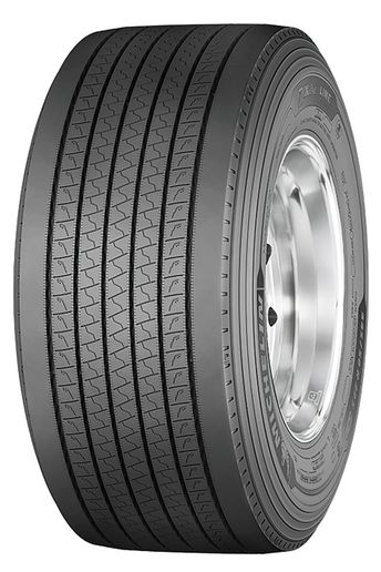 Michelin'sX One Line Energy T2 wide-base tire is the company's most fuel-efficient trailer tire to date. - Photo: Michelin