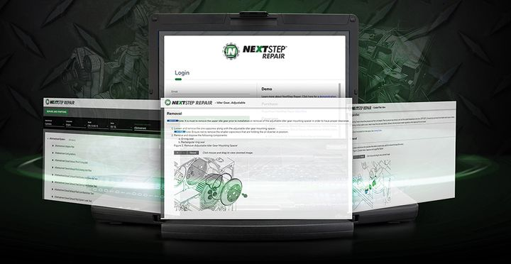 Noregon'sNextStep Repair interactive maintenance guide offers step-by-step repair instructions and guidance for all engine makes and models. - Photo: Noregon