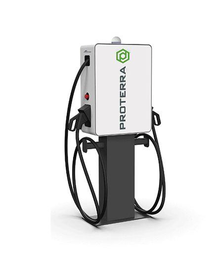 Proterra'sFleet-Scale EV Charging Solutions, which are customizable and can be configured at a broad range of power levels. - Photo: Proterra