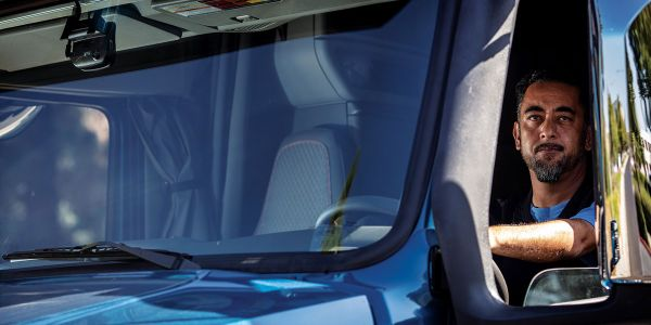 Technologies such as in-cab cameras were effective strategies for a number of fleets in the study.