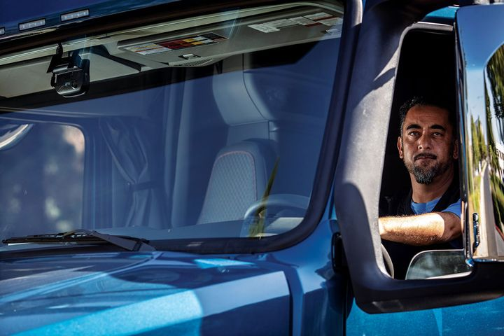 Technologies such as in-cab cameras were effective strategies for a number of fleets in the study. - Photo: Lytx