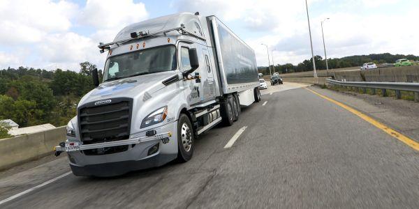 Torc Robotics is collaborating with Daimler Trucks on autonomous truck development.