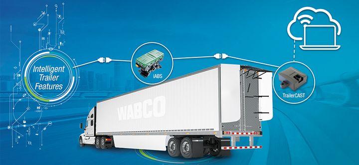 ZF'sWabco Connected Trailer Platform is an intelligent trailer platform. - Photo: ZF