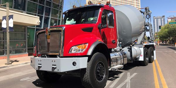Kenworth's new medium-duty truck line features models ranging from Class 5 to light 8...