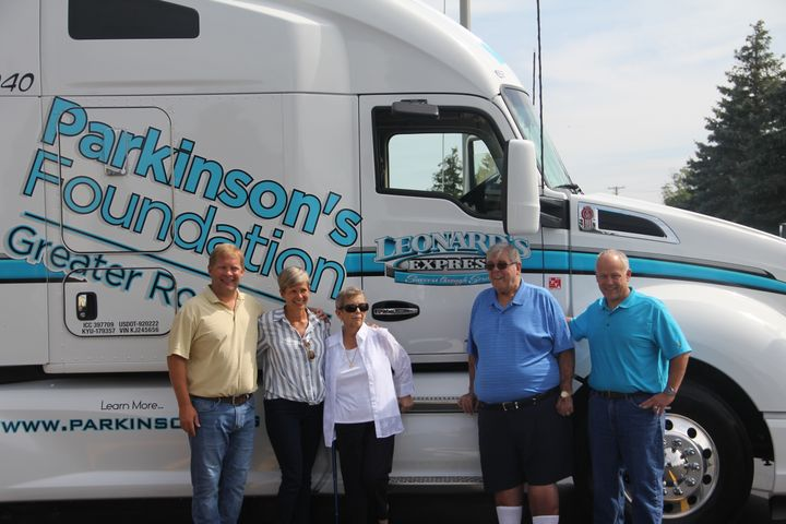 Johnson spent most of his career working his way up through the maintenance ranks at K.J. Transportation, then moved into a management role in the early 2000s at another family business, truck brokerage Leonard's Express, where today he's CEO. - Photo: Leonard's Express