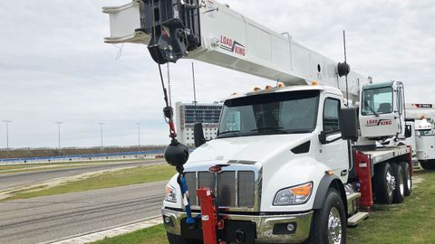 """Peterbilt strove to instill a """"car-like"""" feel to its new medium duty truck line – even in its..."""