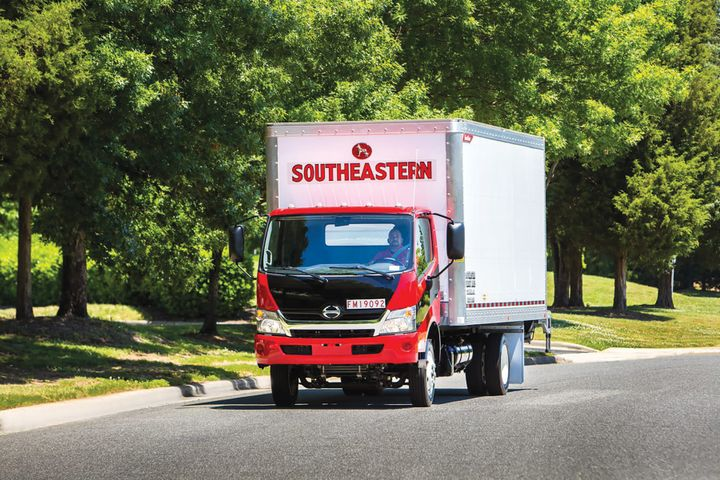 At Southeastern Freight Lines, all last-mile drivers receive the same comprehensive training as the carrier's other drivers. Likewise, these drivers are outfitted with branded uniforms and trucks. - Photo: Southeastern Freight Lines
