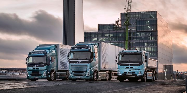 Volvo sees hydrogen as key part of its fossil-fuel free vision, using hydrogen fuel cells alongside battery-electric vehicles and biofuel- or hydrogen-powered internal combustion engines. - Photo: Volvo Trucks