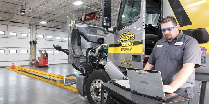 To really manage your parts inventory, you need data. - Photo:Halvor Lines