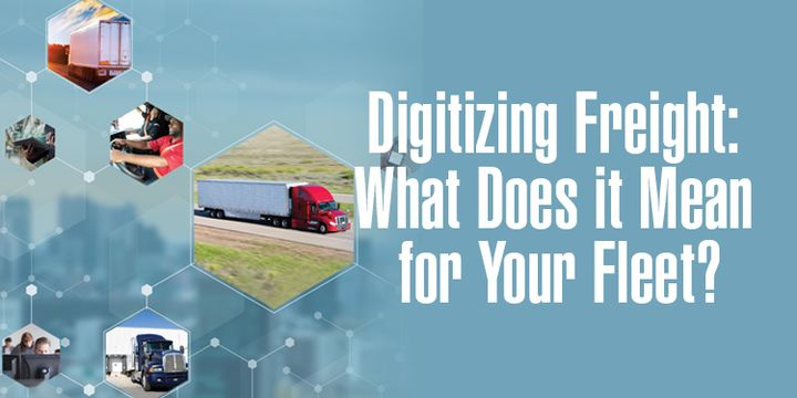Tapping digital technologies improves visibility for shippers and brokers and quality of life for drivers. - Graphic: HDT