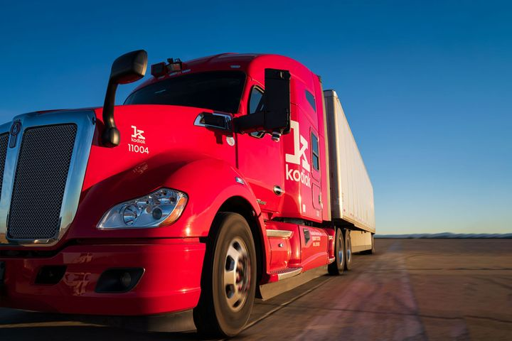 """""""These trucks and trailers are a new link in supply chain, and not a brand-new technology."""" — Dan Goff, Kodiak Robotics - Photo: Kodiak Robotics"""