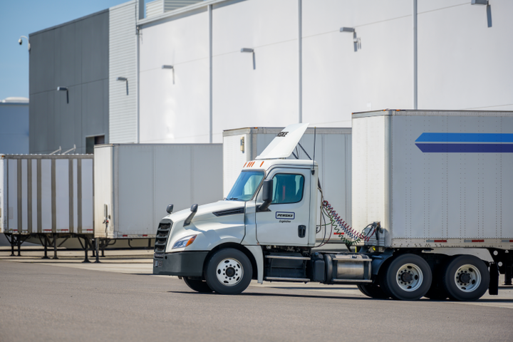 """Digitizing data helps identify wasted time. """"If you can pinpoint where the wait is, you can eliminate it,"""" says Penske Logistics' LeAnne Coulter. """"And if you can know availability and have visibility, you can address drivers' requests for home time."""" - Photo: Penske Logistics"""