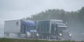 How to Reduce Splash and Spray From Your Trucks