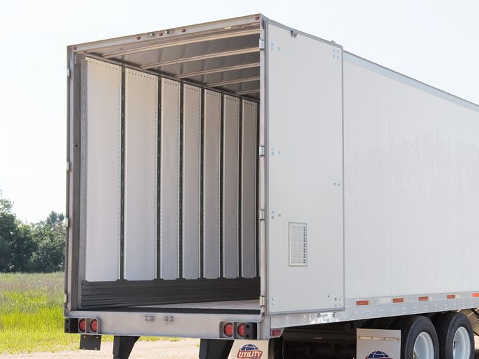 Utility Trailer Manufacturing is one company that uses composites to lower weight while maintaining strength, as in this 4000D-X. - Photo: Utility Trailer