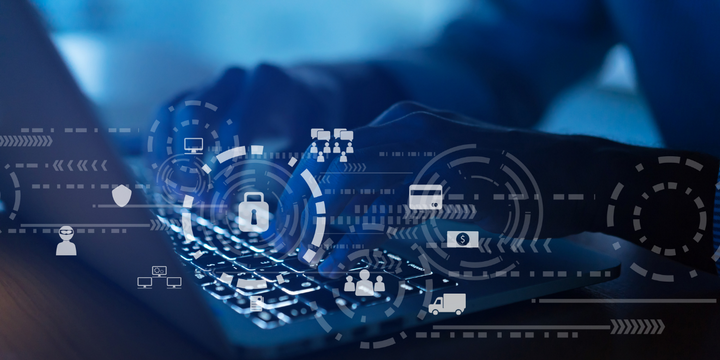 During The Machinery Haulers Association's 2021 Safety and Security Conference, Trans-System's CIO shared three easy ways fleets can boost their cyber security efforts. - Graphic: HDT/Canva