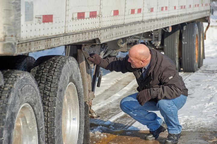 Vehicle inspections are one of the topics required during range instruction in the new ELDT rules. - Photo: J.J. Keller