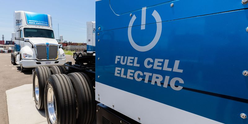 Toyota and Kenworth have been jointly developing hydrogen fuel cell technology for Class 8...