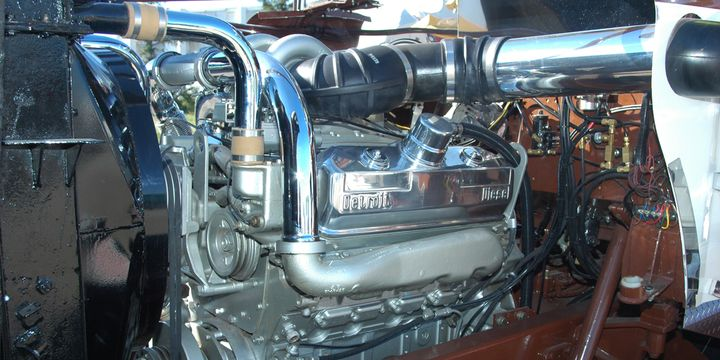 Diesel internal combustions have come a long way since Rudolph Diesel fired up the first one running on peanut oil. Experts agree there's lots of life left in internal combustion engines. - Photo: Jim Park