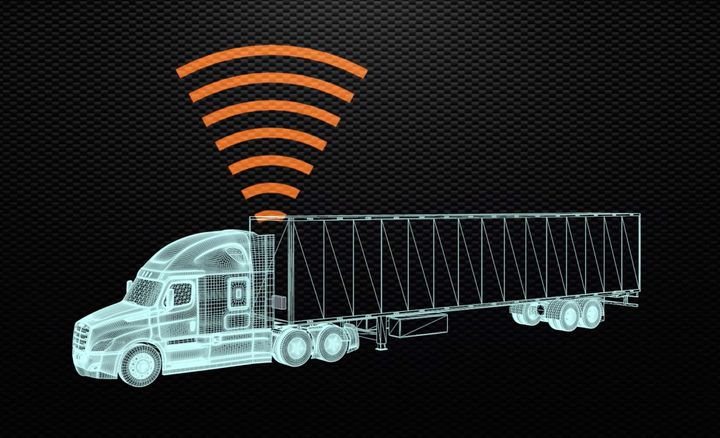 Data gathered by telematics can be transmitted to any person or business concerned with a particular shipment — including real-time alerts to the driver, without having to go through a dispatcher. - Photo: Peterson