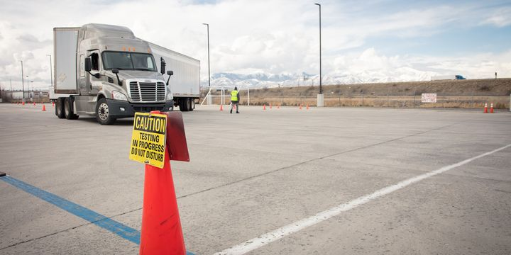 New entry-level driver training requirements call for range instruction to cover seven topics, including backing and parking, among others. - Photo: Prime Inc.