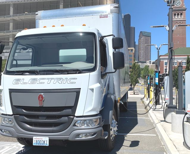 PacLease will bundle the cost of charging systems within full-service lease offerings to customers. - Photo: PacLease