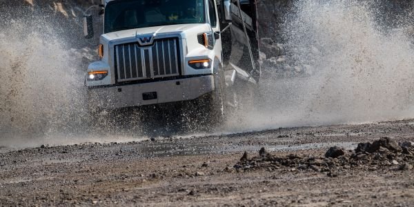 The Western Star 47X is 10 inches shorter and 200 pounds lighter—spec-for-spec — than the 49X....