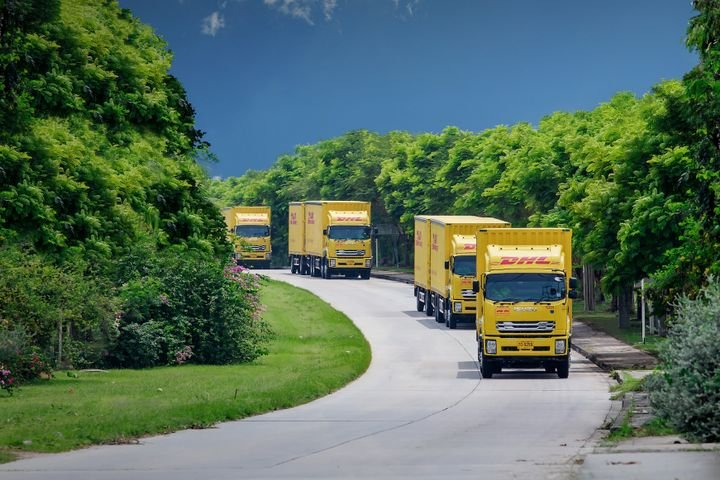 DHL Global Forwarding predicts strong in cross-border road transportation in Southeast Asia. - Photo: DHL