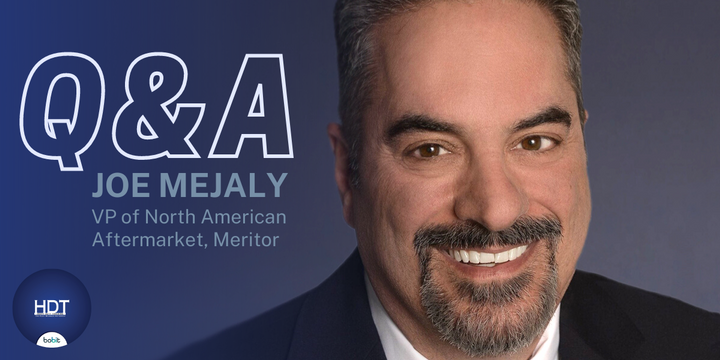 Joe Mejaly sits down with HDT Aftermarket Contributing Editor Denise Rondini to discuss his return to the company, his career and the state of the aftermarket. -