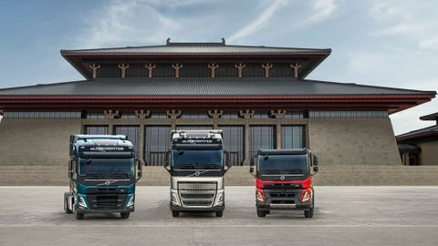 Volvo's newFH,FM andFMX trucks will be built in Taiyuan for customers in China.
