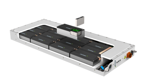 The AKASystem OEM PRClithium-ion battery system for commercial vehicles will be produced in the...
