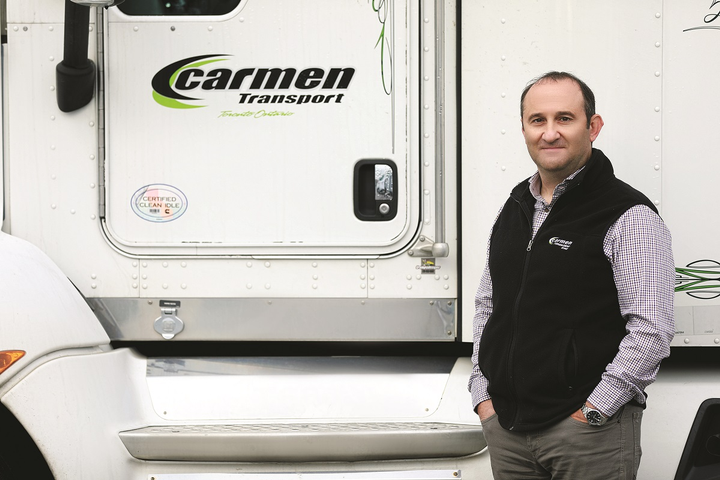 Vince Tarantini, President, Carmen Transportation  Toronto, Ontario  -