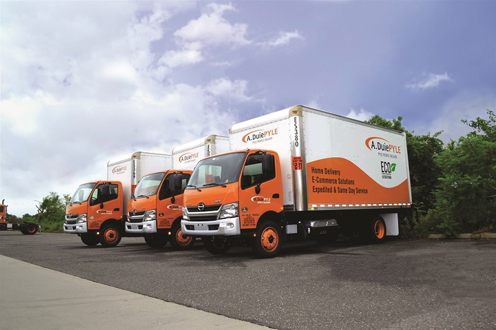 A. Duie Pyle's last-mile division is using diesel-electric hybrid trucks in New York City.