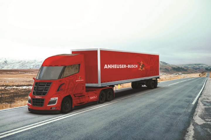 Anheuser Busch says it will convert its entire dedicated fleet to renewable power by 2025.