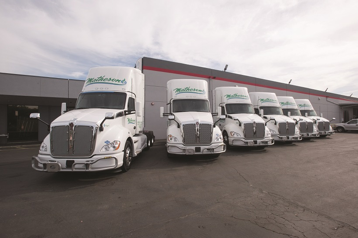 Matheson Trucking plans to use all-CNG tractors to execute a large new four-year postal contract.