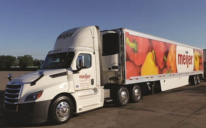 Meijer says it's the first retailer to earn the EPA's SmartWay Excellence Award as both a shipper and a carrier at the same time.  -