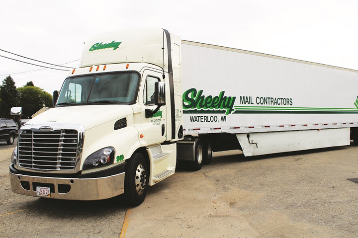 Sheehy Mail Contractors continues to be a leader in adoption of natural gas fuel for its trucks.